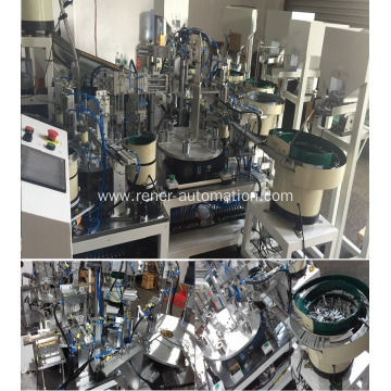 Factory Production Assembly Line For Shower Head